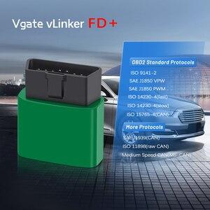 Image 4 - Vgate vLinker FD + ELM327 블루투스 4.0 FORScan 포드 와이파이 OBD2 자동차 진단 OBD 2 스캐너 J2534 ELM 327 MS 수 자동 도구