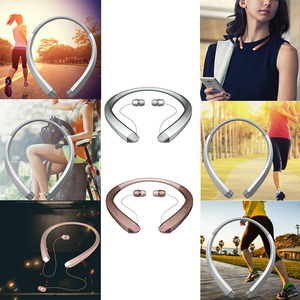 Image 4 - HBS 910 Bluetooth Earphone CSR Tone Sports Neckband Mic Noise Cancelling Stereo Sweat Proof Headphone