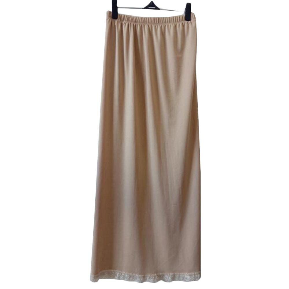 Summer Slips Woman Casual Homme Pure Silk Mini Skirts Sexy Lady Underdress Vestidos Women Loose Half Slips Petticoat underskirt(China)