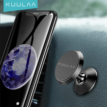 KUULAA Magnetic Car Phone Holder Air Vent Magnet Mobile Phone Stand Car Holder For Cell Phone Car Mount Holder Universal