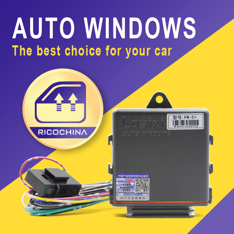 Top Car Auto Power Windows Closer For Car Alarm 4 Door Auto Safety Auto Close Window Roll Up Closer Module Systems