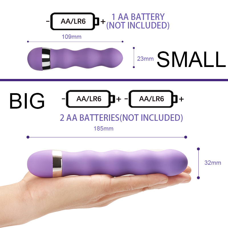Multi-speed G Spot Vagina Vibrator Clitoris Butt Plug Anal