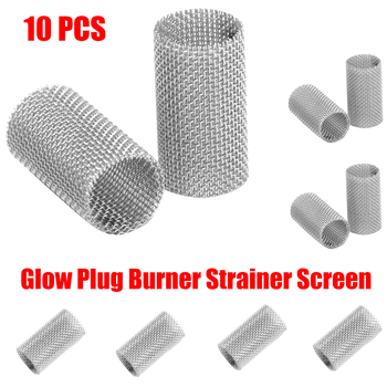 12v silicon nitride ceramic parking heater glow plug for eberspacher airtronic d2 d4wsc d5wsc heater glow plug 252106011000 10pcs Mini Car Glow Plug Burner Strainer Screen For Diesel Air Parking Heater Felts Mesh Stainless Steel For Car Heater Parts