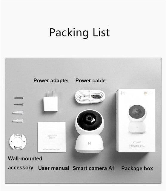 xiaomi smart camera A1