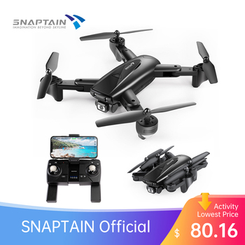 SNAPTAIN SP500 Foldable FPV Camera Drone RC with 1080P HD Drones RC Quadcopter Smart drone gps Return Auto Hover 5G WiFi Drones sg900 foldable quadcopter 720p drone quadcopter wifi fpv drones gps optical flow positioning rc drone helicopter with camera hot