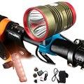 MTB 2500 люмен XHP70 светодиодный велосипедный фонарь передний головной светильник для езды на велосипеде велосипедный передний светильник для ...