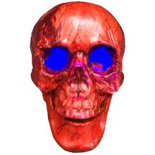 Halloween Horror Pendant with Light Simulation Skull Decoration Props