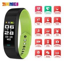 SKMEI Smart Watch Men Women Bracelet Sport Fitness Touch Screen Bluetooth Heart Rate Wristbands For Android IOS B25