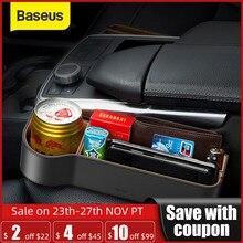 Универсальный Кожаный Автомобильный Органайзер Baseus, автомобильный держатель для сиденья, карманный органайзер, портмоне, сигаретных ключей, телефона