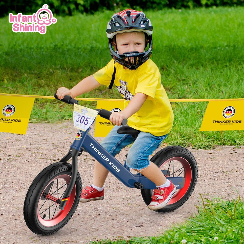 Baby Balance Bike Kids Walker Bicycle Ride On Toys Two Wheels Gift For 1-5years Old Children Learning Walk Racing Sliding Bike