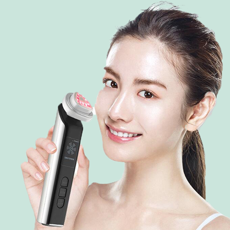 Bipolar RF Facial Machine Portable EMS Beauty for Skin Rejuvenation Wrinkle Removal Skin Tightening Anti Aging Therapy-in Face Skin Care Tools from Beauty & Health