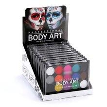 Детский набор для рисования 15 цветов краска тела Нетоксичная