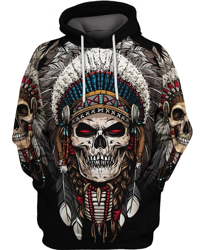 Hot Sale Native Indian 3D Hoodies/sweatshirts Men Women New Fashion Hooded Winter Autumn Long Sleeve Streetwear Pullover-10