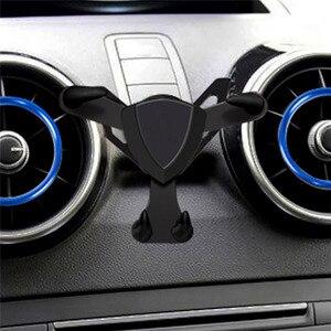 Image 2 - Автомобильный держатель для телефона с креплением на решетку вентиляции для Audi A1 A3 Универсальный гравитационный кронштейн для iphone Android