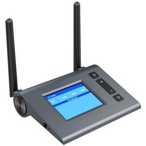 Bluetooth 5.0 receptor transmissor de tv óptica sem fio adaptador música longa distância aptx hd baixa latência rca aux 3.5mm áudio