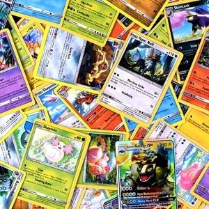 Image 4 - Juego de cartas de pokemon gx MEGA brillante para niños, juego de 324 uds, 100 uds, divertido francés e inglés, cartas de batalla