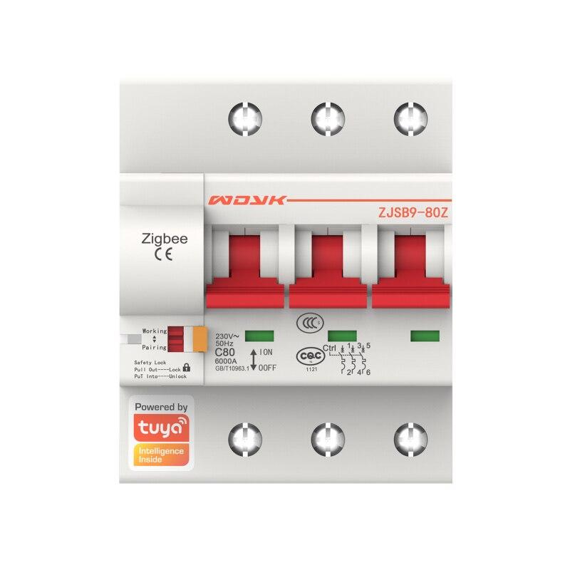 380v interruptor de ar zigbee3.0 controle de