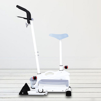 Elliptical bicycle indoor ladies small riding scooter adjustable bicycle home gym exercise equipment