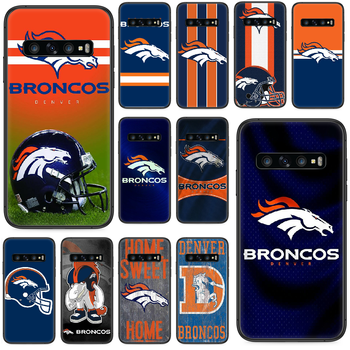Denver Bronco American Football Phone case For Samsung Galaxy S 10 20 3 4 5 6 7 8 9 Plus E Lite Uitra black coque trend back 3D image