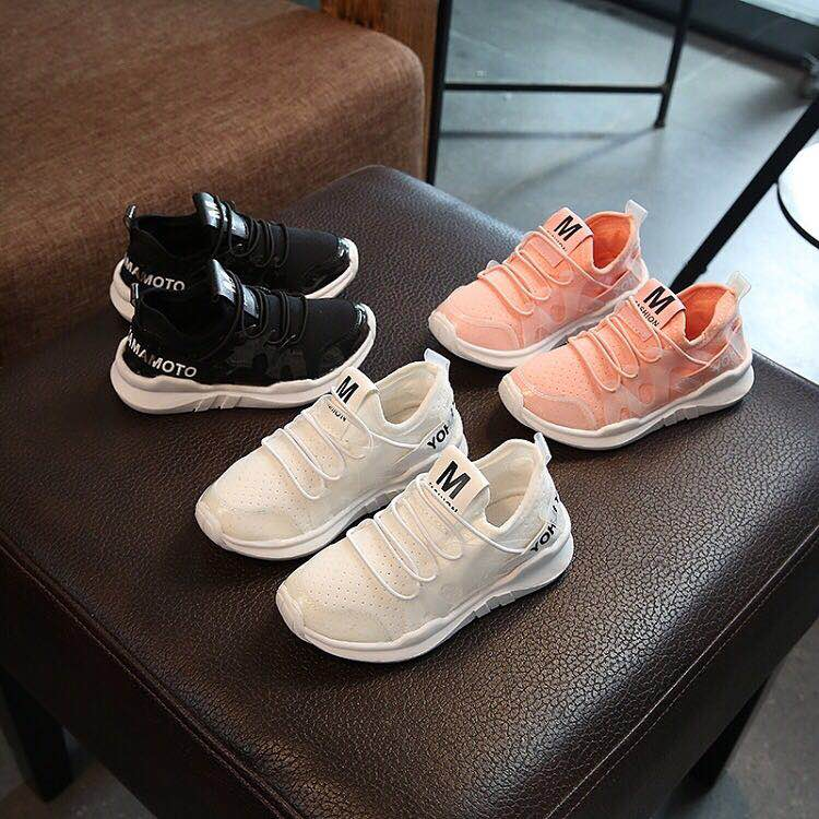 Kids Shoes Boys Girls Casual Mesh Sneakers Breathable Soft Soled Running Sports Shoes