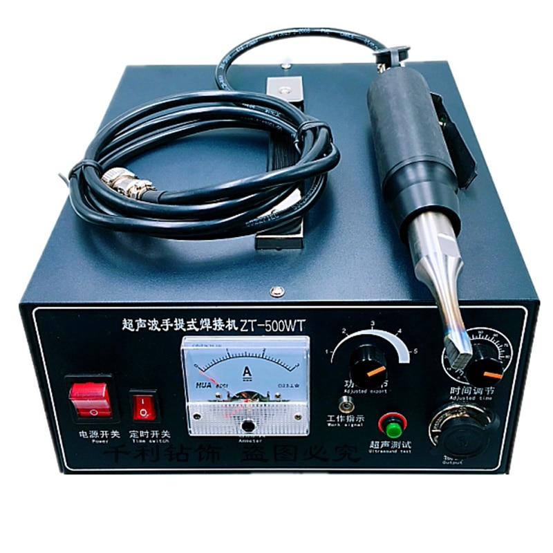 Ultrasonic Spot Welding Machine And Mask Ear Strap Spot Welding Machine For Disposable