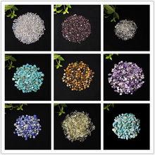 50 г/100g с натуральными кристаллами гравия образца Кристальный гравий украшения дома Цвет камень для аквариума исцеления энергии камень мин