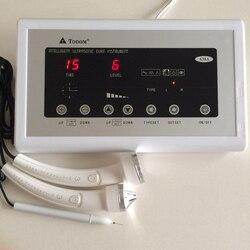 Máquina de ultrasonido 638A, masajeador Facial ultrasónico para cuerpo, cara, piel, Tigtening Spot, lápiz de eliminación de lunares, cuidado de la piel, SPA, dispositivo de belleza