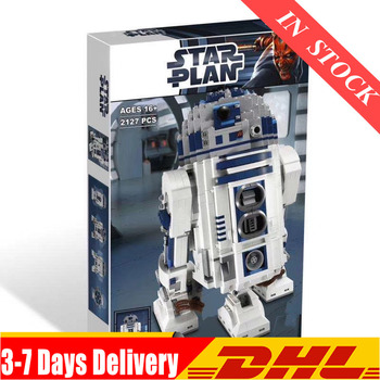 2020 IN Stock 05043 Star Wars Space Out of Print The R2-D2 Robot Set Model Building Blocks 2127pcs Bricks Toys Compatible 10225 1