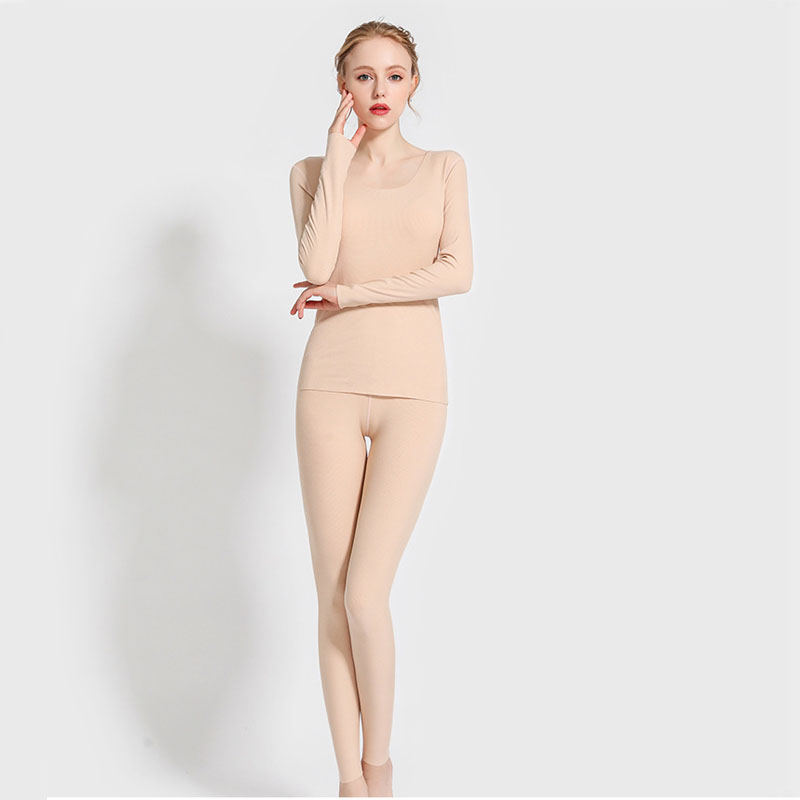 Women Thermal Underwear Set For Autumn Winter Long Johns For Female Thermal Clothing Modal Sanding Femme Thermal Clothing