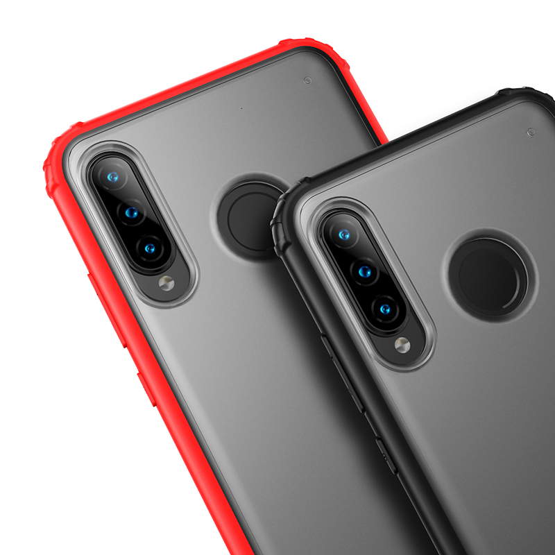 Luxe Case Voor Huawei P30 Lite P30 Pro Coque Funda Transparante Shockproof Silicone Cover Voor Huawei P30 hard shell - 3