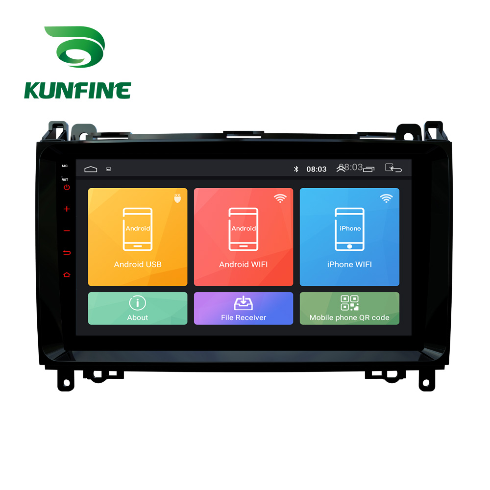 Octa Core <font><b>Android</b></font> 10.0 Car DVD GPS Navigation Player Deckless Car Stereo for <font><b>Benz</b></font> B200 A-class <font><b>W169</b></font> B-class Headunit <font><b>Radio</b></font> image