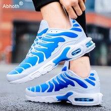 Abhoth hommes chaussures respirant léger confortable chaussures des hommes augmenté à lacets coussin d'air hommes baskets décontracté Zapatos De Hombre