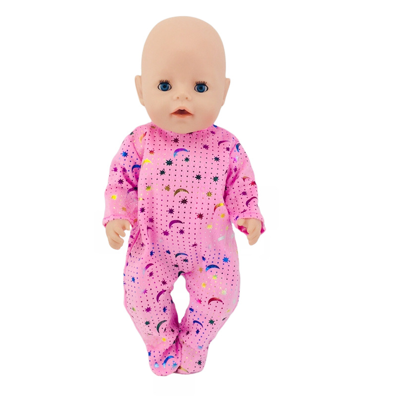<font><b>Doll</b></font> <font><b>Clothes</b></font> Cute Pajamas Nightgowns Fit 18 Inch American <font><b>Doll</b></font> & 43 <font><b>Cm</b></font> Born <font><b>Doll</b></font> For Generation Girl`s Toy <font><b>Doll</b></font> Accessories 033 image