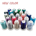 84 Polyester Embroidery Thread 1000M Filament Threads High Strength Sheen For Brother/Babylock/Janome Machine Sewing Home Thread