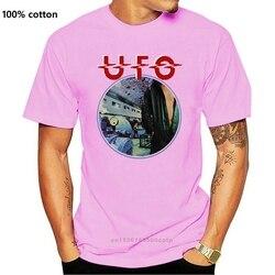VTG 70 UFO - Lights Out album 1977 t-shirt reprint whitesnake blackfoot dio USA