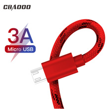 CBAOOO 3A Micro 1 m 2 3 USB cable mobile phone line fast charging mini for Samsung millet charg