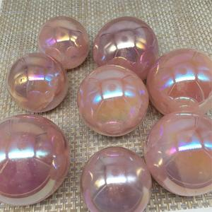 Image 5 - 天使auraローズ水晶ボール天然石とミネラル宝石球家の装飾風水風水工芸品