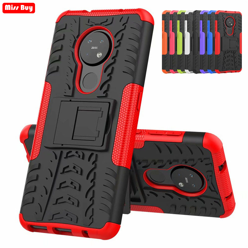 Anti-knock Heavy Duty Armor Hard <font><b>Back</b></font> <font><b>Cover</b></font> For <font><b>Nokia</b></font> <font><b>7.1</b></font> 7.2 6 2018 N550 3.1 Plus X6 X5 <font><b>7.1</b></font> Plus for <font><b>Nokia</b></font> 4.2 3.2 2.2 7.2 Case image