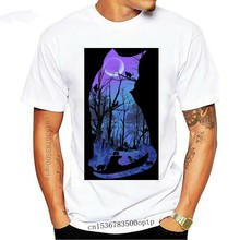 Purple Moon Cats Wicca Pagan T.Shirt