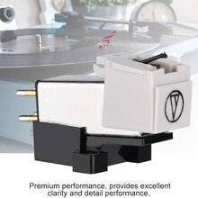 磁気plattenspieler lpビニール針ためターンテーブルレコードプレーヤー標準マウント正確な記録機能