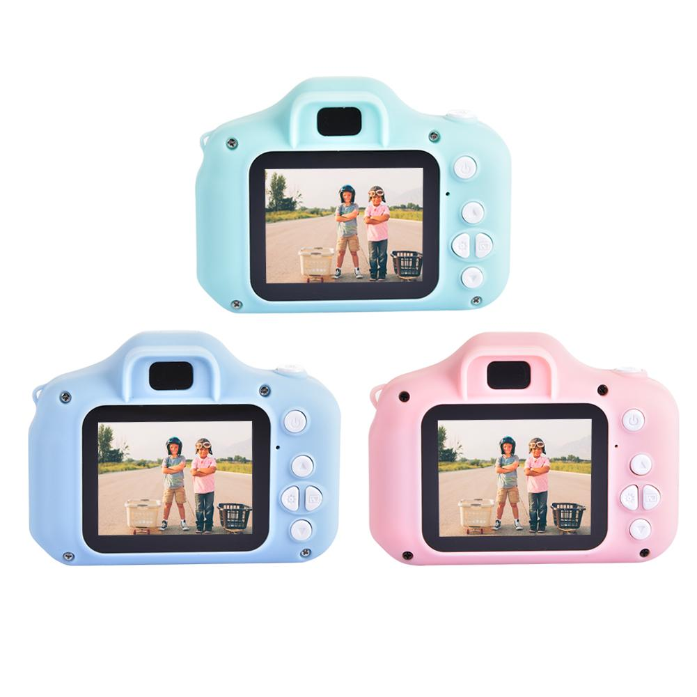 Kids Camera 12MP HD Video Camera 1080P Screen Digital Cameras Video Recorder Outdoor Toys For Children With 32GB Crad Reader