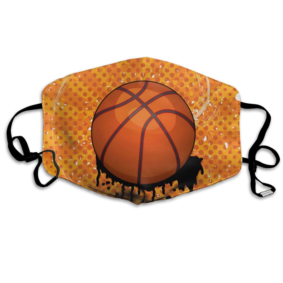 Mouth Mask For Daily Dress Up, Basket Ball Anti-dust Mouth-Muffle, Washable Reusable Holiday Half Face Masks For Mens And Womens