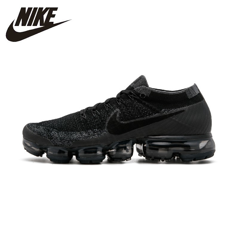 NIKE AIR VAPORMAX FLYKNIT Comfortable Running Shoes Mans Sports Sneakers Breathable 849558-007