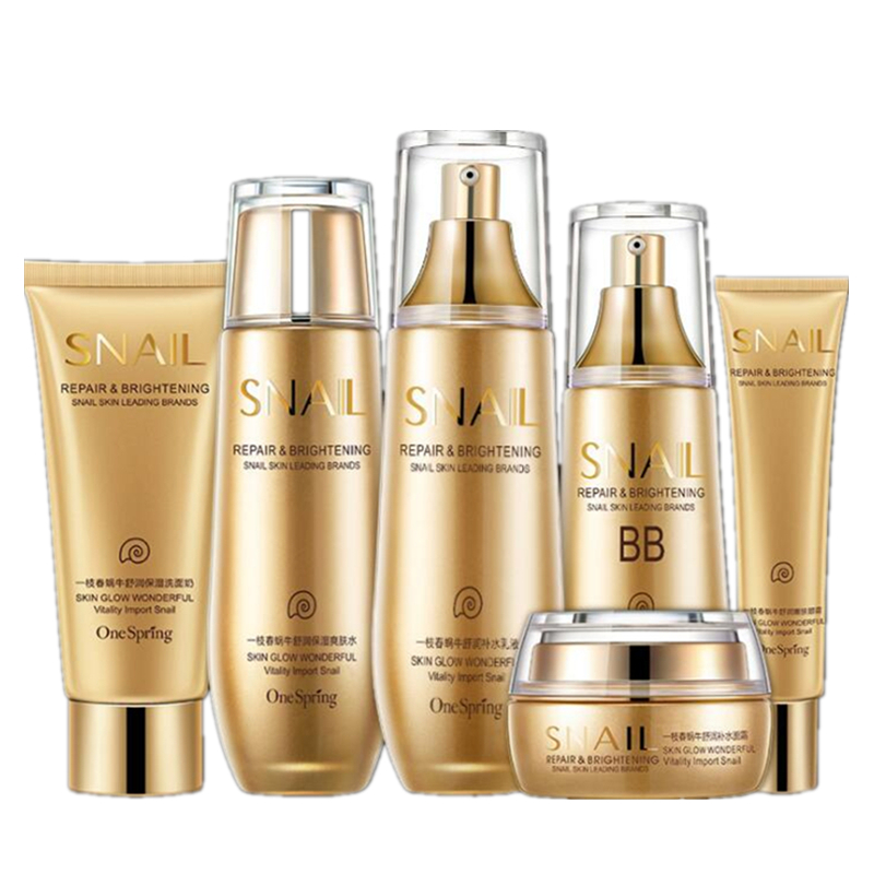 Hot women Face Care makeup set,Fashion Men cosmetics kit,Anti-wrinkle concealer Oil-control Toner,Moist face Cleanser cream