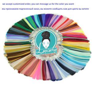 """Image 5 - Luxus Für Flechten 7 teile/los 100 gr/teil 24 """"Ombre Yaki Flechten Haar Synthetische Jumbo Zöpfe für Häkeln Zöpfe 100 farben"""