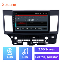 High version ROM 2GB RAM 32GB 2.5D Android 8.1 10.1 inch Car Radio Unit GPS Player For Mitsubishi Lancer ex 2008 2009 2010 2015