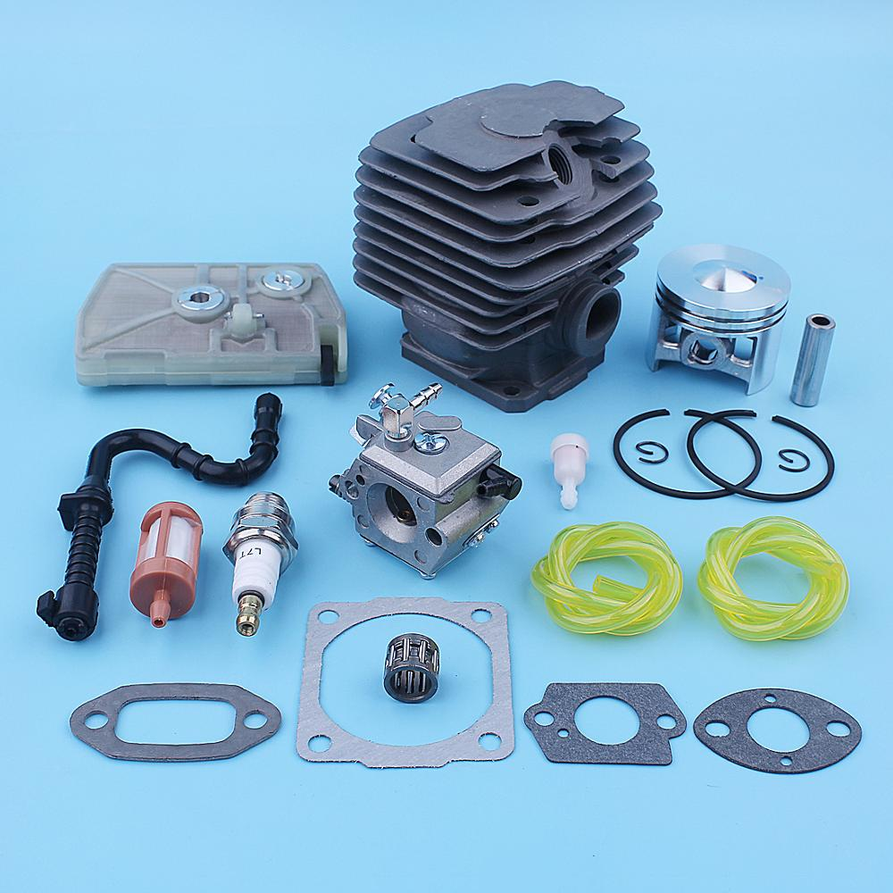Tools : 46mm Cylinder Piston Carburetor Air Filter Tune-Up Kit For Stihl 028 028AV Super Chainsaw Replacement Parts 1118 020 1203