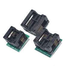 SOP16 to DIP8 Wide-body Seat Wide 150mil 200mil 208mil 300mil Programmer SOP8 Adapter Socket for EZP2010 EZP2013 CH341A IC test