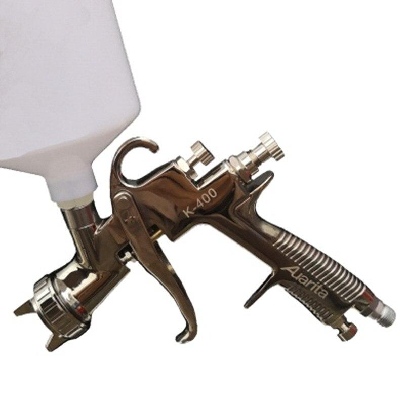 Auarita K400 W400 Spray Gun Automobile Spray 1.4/1.7 High Atomization Spray Gun Stainless Steel Nozzle Paint Gun Lvlp 600ml