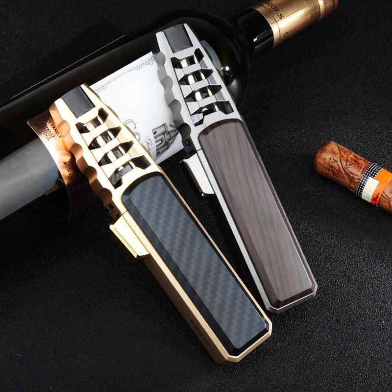 JOBON супер Firepower струйфонарь, турбо-зажигалка, газовая лампа, мини-сигарета, аксессуары для курения, барбекю, кухонные зажигалки